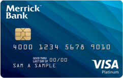 Merrick Bank Secured Visa®  Card