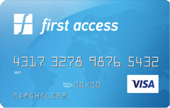 First Access VISA<sup>®</sup> Credit Card