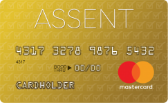 Assent Platinum MasterCard® Secured Credit Card
