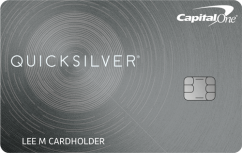 Capital One Quicksilver Cash Rewards Credit Card