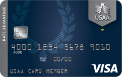 USAA® Rate Advantage Platinum Visa® Card