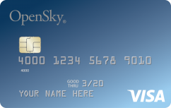 The OpenSky<sup>®</sup> Secured Visa<sup>®</sup> Credit Card